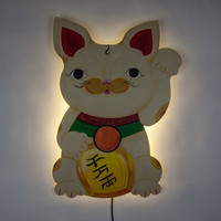 Sand Neko Wall Light
