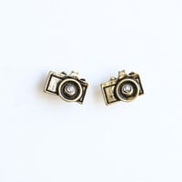 Tessa Vintage Camera Earrings