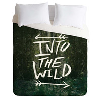 Leah Flores Into The Wild 1 Duvet Cover