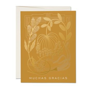 RED CAP CARDS MUSTARD CARD