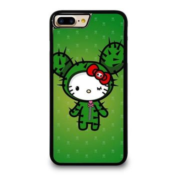 hello kitty dokitoki donutella iphone 4 4s 5 5s se 5c 6 6s 7 8 plus x case  number 1
