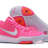 Nike Kyrie Irving 3 Pink/White Basketball Shoe US7-12