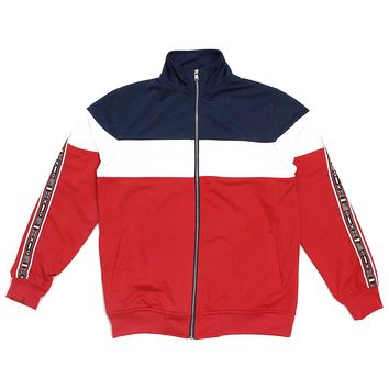 Bradley Track Jacket (Red,White,Blue)
