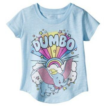 Disney® Infant Toddler Girls' Dumbo Tee - Blue
