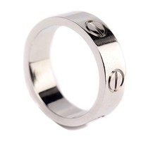 Love Ring-Silve Lifetime Just Love You With(Size:5-10)
