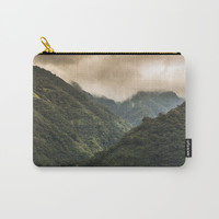 The Mountains Carry-All Pouch by Jessie Flori