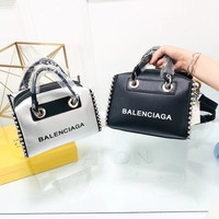 """Belle Balenciaga"" new mobile messenger bag"