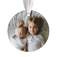 Create Your Own Custom Photo Holiday Ornament