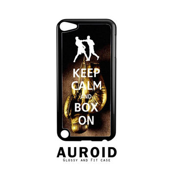 Keep Calm Wwe Boxing Gloves iPod Touch 5 Case Auroid