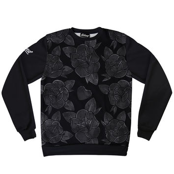 Beloved Premium Black Floral Sweatshirt