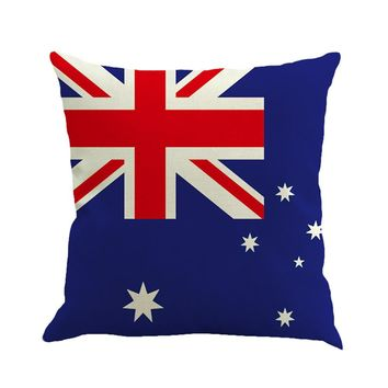 2017 pillow case vintage Flag Style Square Pillow Case decorative throw pillows lovely