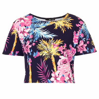 **JANE FLORAL TOP BY TFNC