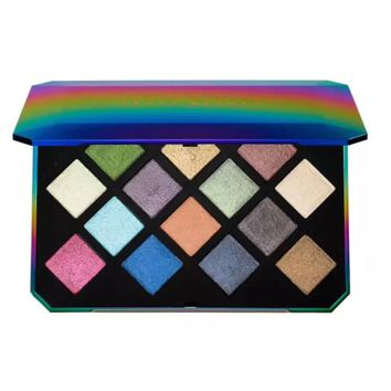 HOT New Fenty Beauty by Rihanna Galaxy Glitter 14 color Eyeshadow Palette Limited Edition for Christmas gift fast shipping