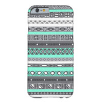 Tiffany Grey Aztec Mint Indian Pattern iPhone 6 ca iPhone 6 Case