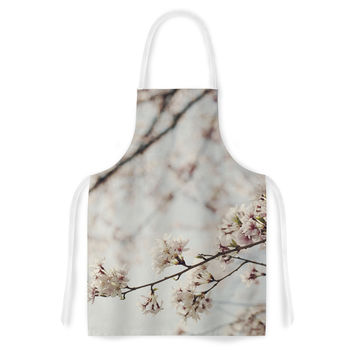 "Catherine McDonald ""Japanese Cherry Blossom"" Artistic Apron"