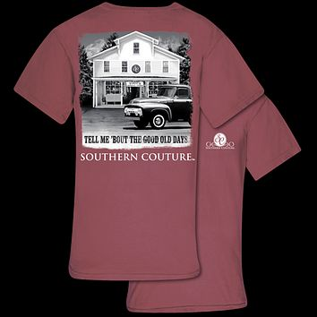 Southern Couture Good Old Days Comfort Colors T-Shirt