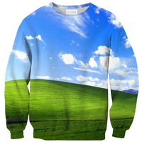Bliss Screensaver Sweater