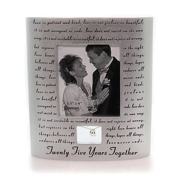Home Decor Love Never Fails Frame Home Decor