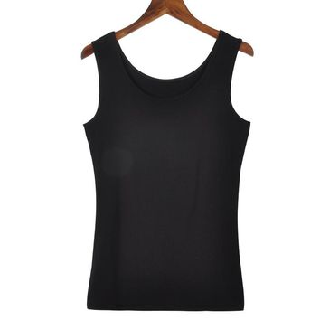 New Women Candy Color Tanks Top Camisole Fitness  T Shirt Top Singlet Low-cut Basic Solid Tank Vest Blusas Summer Vest F0214