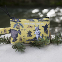 Where the wild things are Padded Zipper Pouch