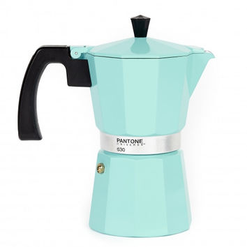 Pantone 6 cup coffee makerVintage Blue
