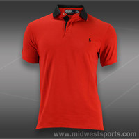 Polo Ralph Lauren Mens Tennis Polos, Polo Ralph Lauren Short Sleeve Stretch Polo