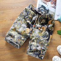 Mens Cool Patterned Beach Shorts