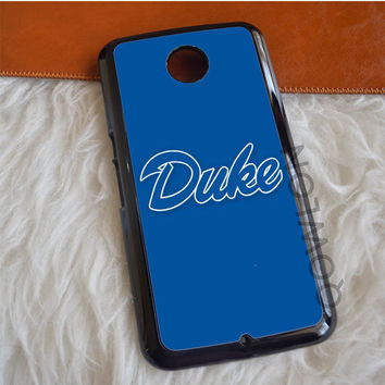 Duke Blue Devils Basketball Nexus 6 Case