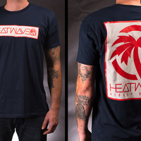 Heat Wave Factory Tee NAVY (XXL only)