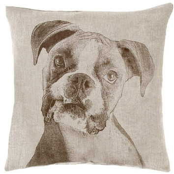 Boxer Decorative Pillow