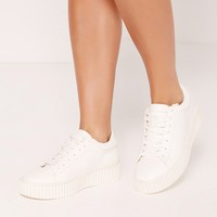 Missguided - Flatform Creepers White