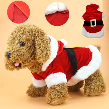 Pet Christmas Santa Suit