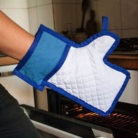 Like Button Oven Mitt, All Natural Materials, Great Gift and Conversation Starter - Makes a Cool Present To Your Facebook Loving Chef - by Nifti Things