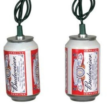 Beer Party String Lights : Budweiser Can LED Party String Lights - from oogalights.com 5.