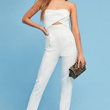 Strapless Cutout Jumpsuit