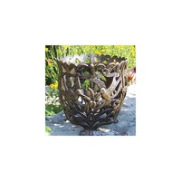 Oakland Living Hummingbird Round Flower Pot Planter
