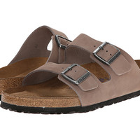 Birkenstock Arizona Soft Footbed - Leather (Unisex) Black Patent - 6pm.com