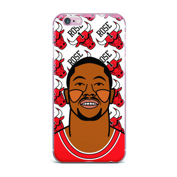 "Will Wild ""Derrick Rose"" Basketball  iPhone Case"