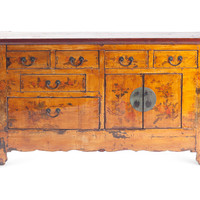One Kings Lane - The Well-Traveled Home - Emerson Cabinet, Ochre