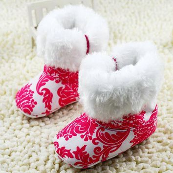 Girls' Winter Boots Super Infant Shoes Red