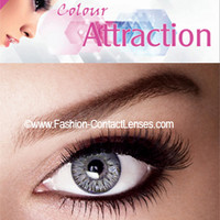 Silver Color Attraction Lenses change your eyes Silver