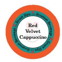 Red Velvet Cappuccino, for Keurig K-cup Brewers, 24 Count