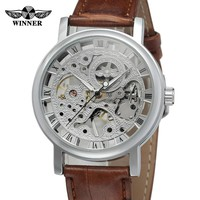T-WINNER Royal Mechanical Men Watches Brand Luxury Business Waterproof Clock Automatic Wristwatches Clock Hodinky Montre Homme