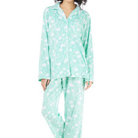 ModCloth That's Great Snooze Pajamas in Floral