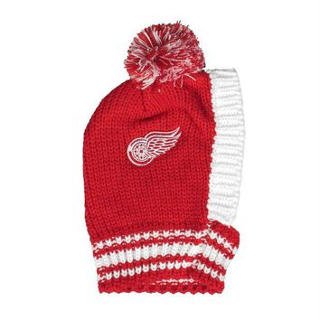 DCCKT9W Detroit Red Wings Pet Knit Hat
