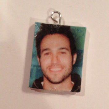 Pete Wentz of Fall Out Boy Charm by AlexTheGirlOfCrafts on Etsy