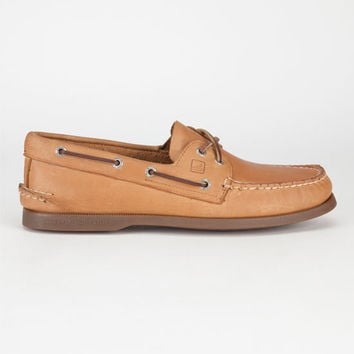 Sperry Top-Sider Authentic Original Mens Boat Shoes Sahara  In Sizes