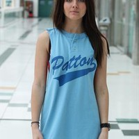 Womens New Vintage Retro Cut USA Vest Tee A221 from revolva