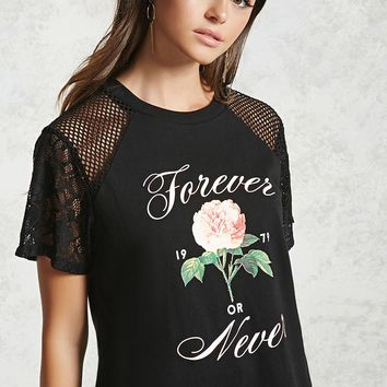 Forever or Never Graphic Tee