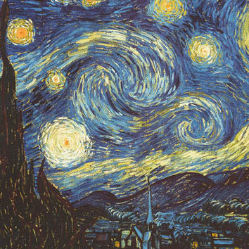 Vincent Van Gogh Starry Night XL Giant Poster 37x55